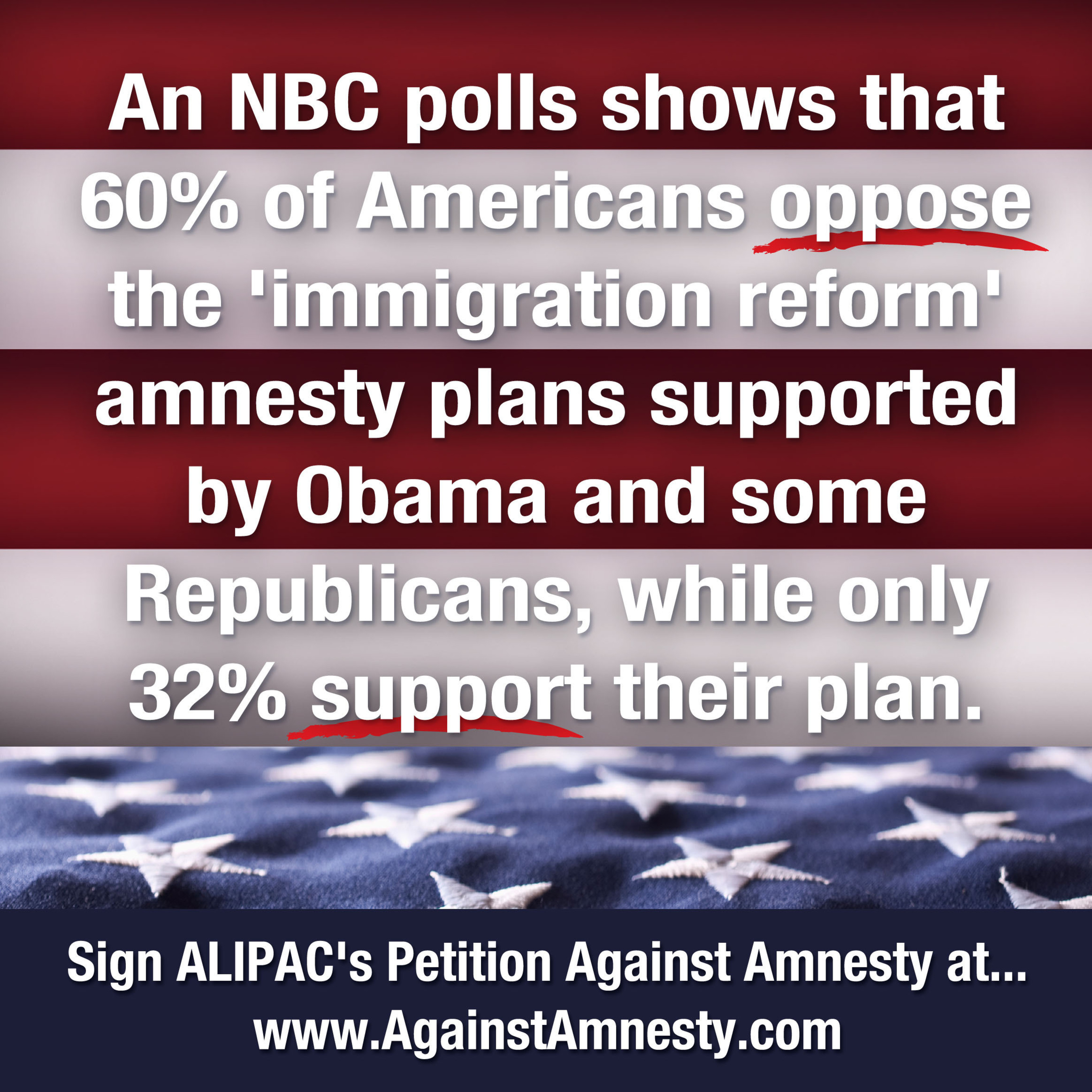 Americans for Legal Immigration PAC.  (PRNewsFoto/Americans for Legal Immigration PAC)