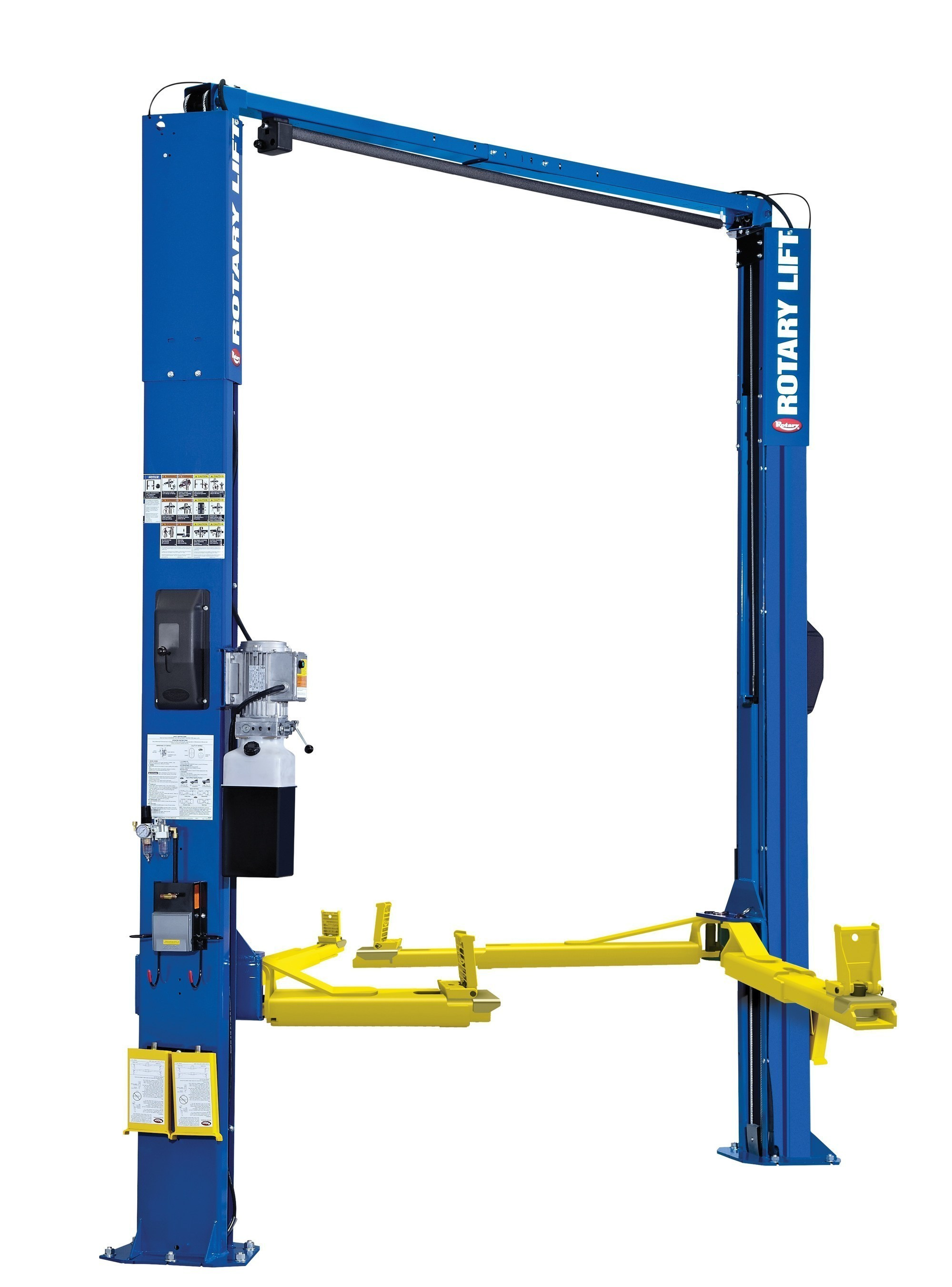 In Ground Lift Parts : Patented trio™ arms now standard on rotary lift spoa two