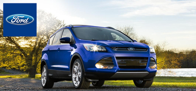 The spacious and versatile 2014 Ford Escape is capable of traveling up to 31 mpg on the highway. (PRNewsFoto/Osseo Automotive)