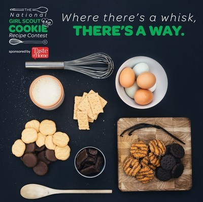Girl Scouts of the USA announces the second annual National Girl Scout Cookie Recipe Contest, sponsored by Taste of Home. Head to girlscouts.org/recipecontest to enter.