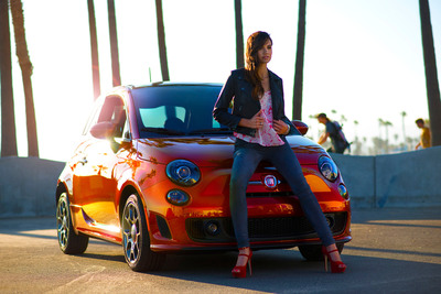 2013 Fiat 500 Cattiva. This limited-edition Fiat 500 will debut on August 16 at Concorso Italiano in Monterrey, California.  (PRNewsFoto/Chrysler Group LLC)