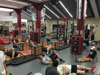 The University of Wisconsin recently hosted a group of wounded veterans for a workout at their state of the art facilities. The event was hosted in partnership with Wounded Warrior Project.
