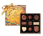 GODIVA Celebrates 90 Years With Limited Edition Gold Anniversary Collection With Packaging Designed By Artist Oli-B