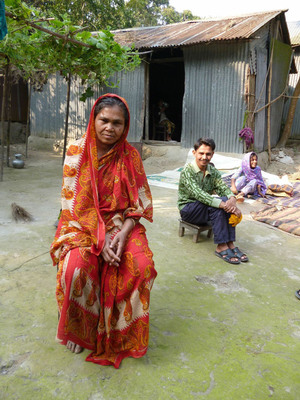 Mrs. H, one of 43 Bangladeshis interviewed as part of new CGAP research.  (PRNewsFoto/CGAP)