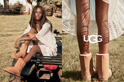 UGG SPRING CAMPAIGN REMINDS US THAT IT'S ALWAYS UGG SEASON
