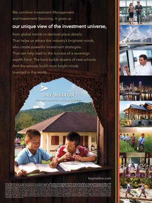 BNY Mellon Print Ad 1.  (PRNewsFoto/BNY Mellon)