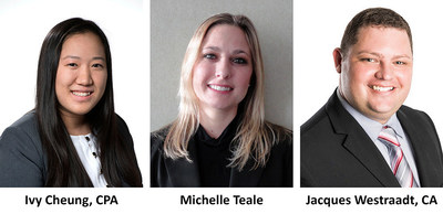 The Siegfried Group Welcomes New Team Leaders: Ivy Cheung, Michelle Teale, and Jacques Westraadt