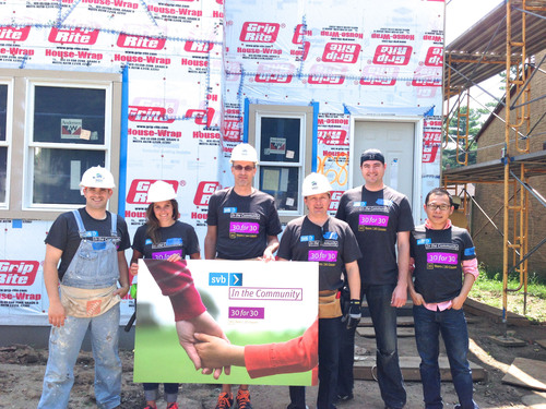 1,400 Silicon Valley Bank employees completed 6,000 hours of community service around the world for its 30 ...
