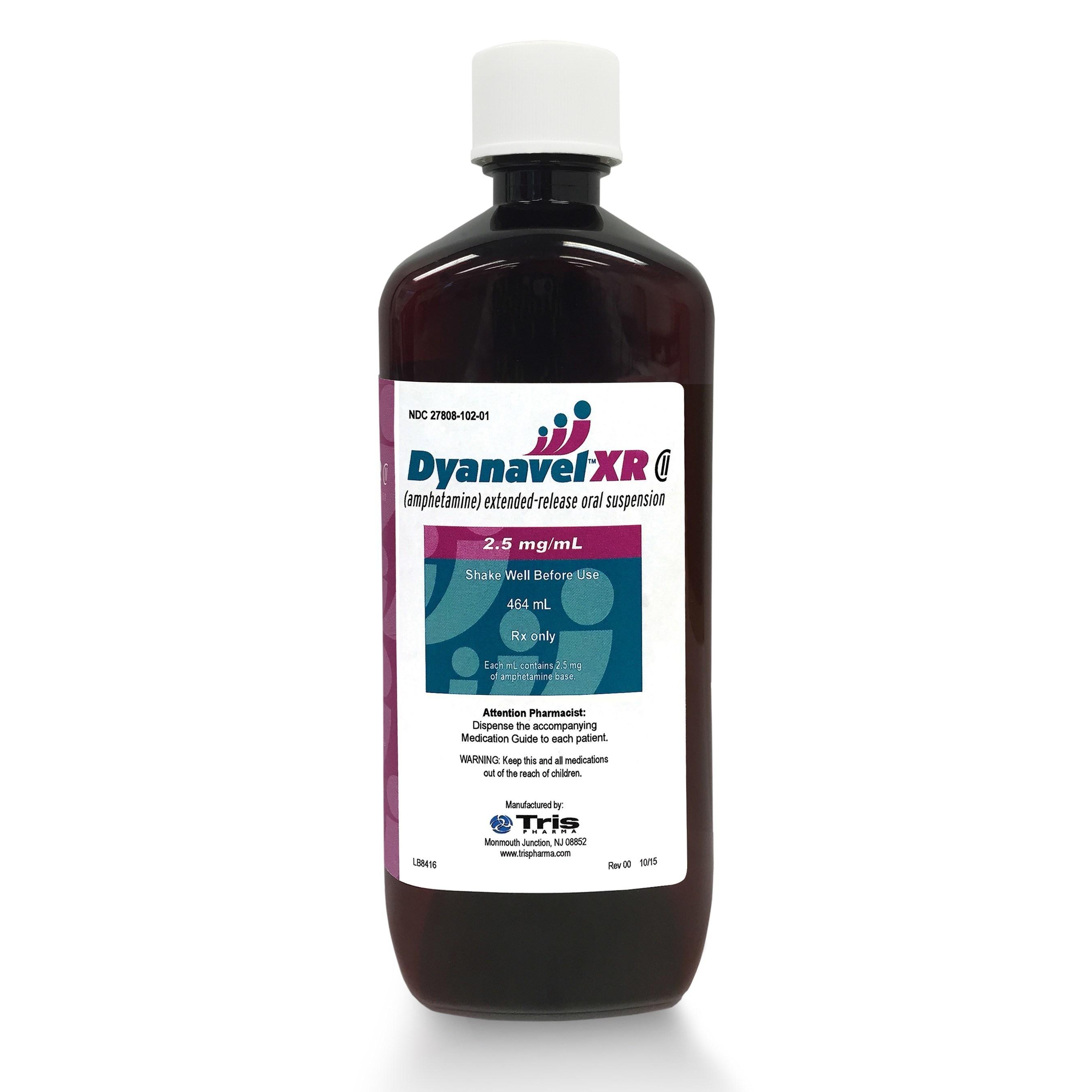 Dyanavel XR 464 mL Bottle