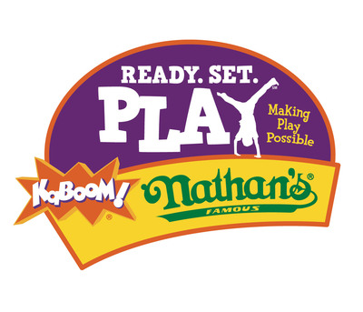 Nathan's Famous & KaBOOM! Ready. Set. PLAY. (PRNewsFoto/Nathan's Famous)
