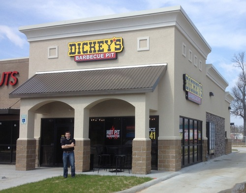 New Dickey's Barbecue Pit Opens in Fayetteville Arkansas (PRNewsFoto/Dickey's Barbecue)
