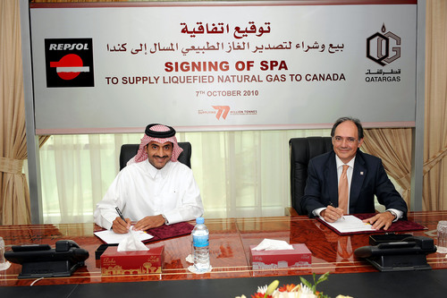 Repsol Signs a Multiyear LNG Supply Agreement with Qatargas
