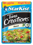 StarKist Livens Up Lunch With New Ranch Single Serve Tuna Creations -- Perfectly Portioned and Only 80 Calories. (PRNewsFoto/StarKist Co.)