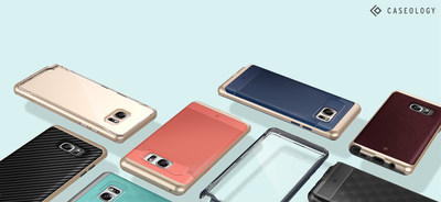 Caseology Announces Availability of Samsung Galaxy Note 7 Phone Cases