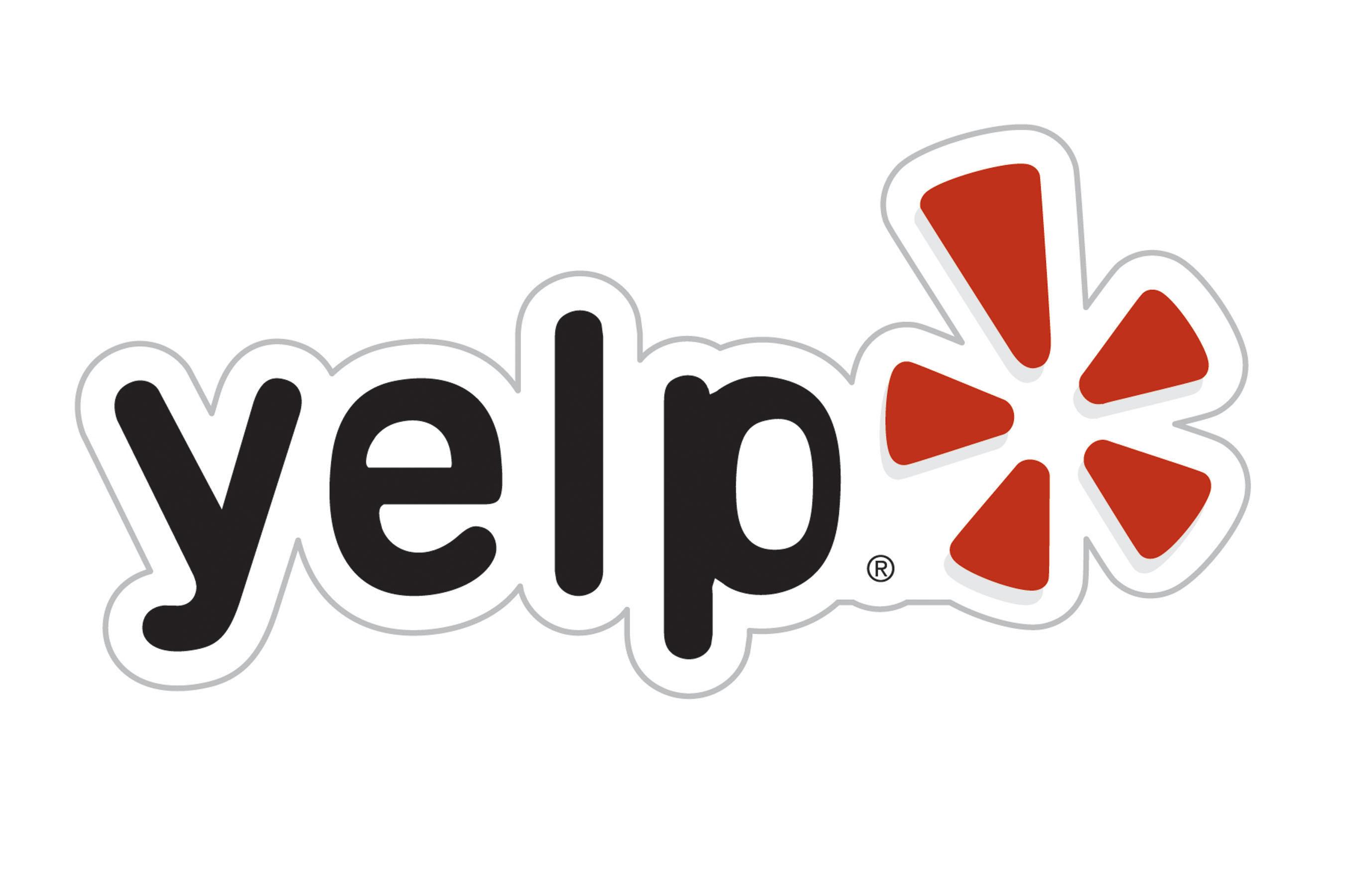 Yelp logo. (PRNewsFoto)