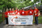 Team CITGO, a volunteer group of CITGO Lemont Refinery employees, continued its dedication to community service by helping prepare Shady Oaks Camp for another year of supporting adults and children with physical and developmental disabilities. (PRNewsFoto/CITGO)