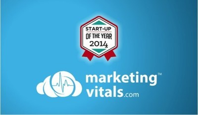 MarketingVitals.com named Start-Up of the Year in the 2014 BIG Awards. (PRNewsFoto/MarketingVitals.com)