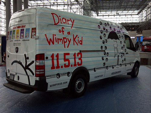 The Wimpy Kid Book 8 Mobile.  (PRNewsFoto/ABRAMS)