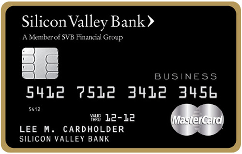 Silicon Valley Bank is the first to deliver chip-enabled credit cards, with EMV chip technology, to businesses in the U.S.  (PRNewsFoto/Silicon Valley Bank)