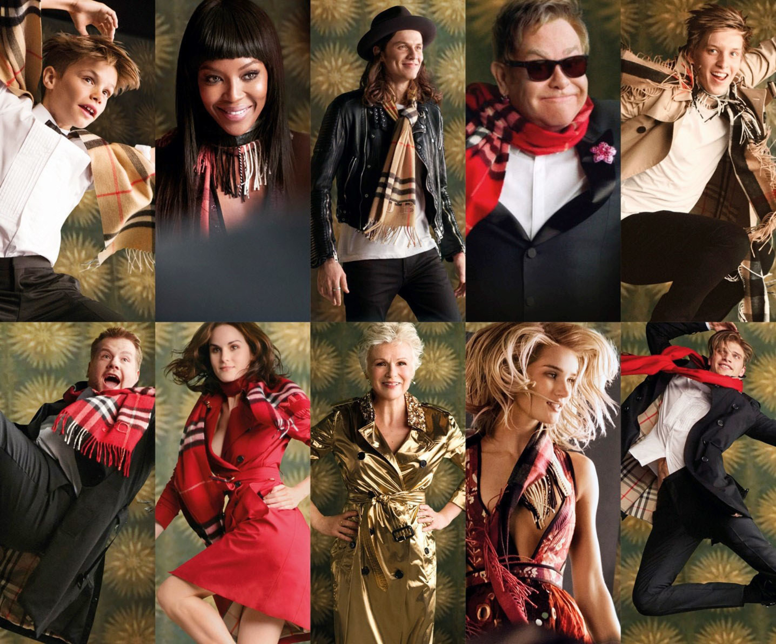 BURBERRY LAUNCHES FESTIVE CAMPAIGN WITH AN ALL-STAR BRITISH CAST