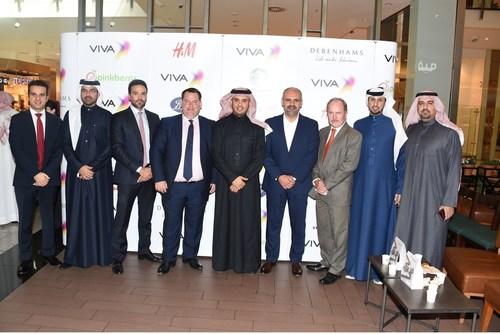 VIVA Bahrain AlShaya Group representatives at the launch of VIVA Rewards Partners (PRNewsFoto/VIVA) (PRNewsFoto/VIVA)