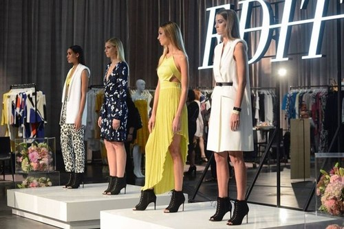 Edit: A fashion show for the advanced contemporary and luxury women's markets (PRNewsFoto/UBM)
