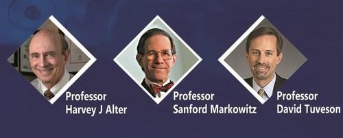 The US winners of Hamdan bin Rashid International Awards for Medical Sciences, 9th term 2015-2016. (PRNewsFoto/Sheikh Hamdan bin Rashid)