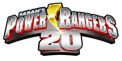 Power Rangers - 20th Anniversary logo.  (PRNewsFoto/Saban Brands)