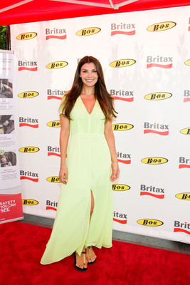 Former Miss USA Ali Landry helps to increase awareness of National Child Passenger Safety Week coming up on September 17 - 22, 2012.