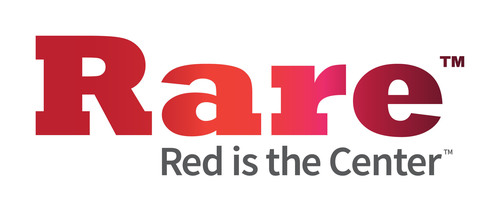 Rare - Red Is The Center - www.rare.us.  (PRNewsFoto/Rare.us)