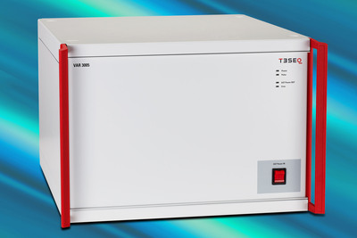 Teseq's New Dual Voltage Supply Source Offers Two Power Sources in One Unit.  (PRNewsFoto/Teseq Inc.)