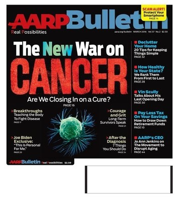 AARP The Bulletin March Issue Cover