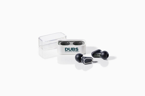 Durable and easily portable in their small, protective case, DUBS Acoustic Filters are advanced tech earplugs ...