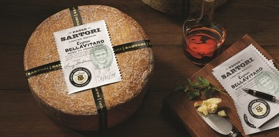 """Sartori Limited Edition Cognac BellaVitano(R) was named """"Best USA Cheese"""" at the International Cheese Awards held in Nantwich, Cheshire in the U.K.  SarVecchio� Parmesan won the """"Cheese with Health Benefits"""" category and Merlot BellaVitano took gold in the """"Cheese, Sweet Additives."""""""