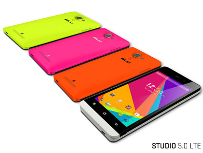 Studio 5.0 LTE (PRNewsFoto/BLU Products)