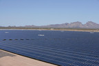 Sempra U.S. Gas & Power's jointly-owned 150-megawatt (MW) Mesquite Solar 1 plant in Arizona, among the largest photovoltaic solar facilities in the U.S.