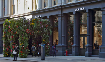 Zara unveils a 47,361-square-foot flagship store in the heart of SoHo