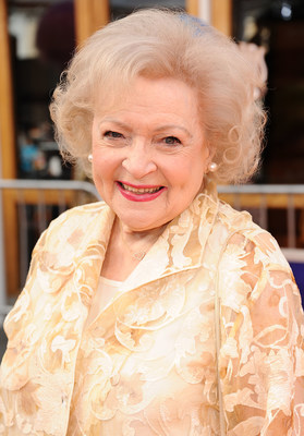 Forget the glamour girls -- Betty White has all of them beat! By taking the top slot in the Q2 2014 InterMedia Entertainment Star(r) Index, Betty showed that age can indeed stand before beauty. Following her on the list were Sandra Bullock, Jennifer Aniston and Jennifer Lopez. www.InterMediaEntertainment.com (PRNewsFoto/InterMedia Entertainment)