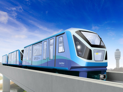 Mitsubishi Heavy Industries America Receives Order for Three Automated People Mover (APM) Systems at Orlando International Airport (PRNewsFoto/Mitsubishi Heavy Industries ...)