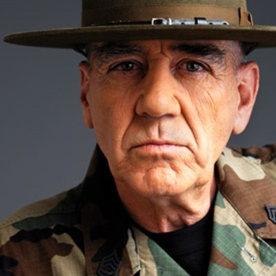 "R. Lee Ermey, Host of Designing Spaces' ""Military Makeover - A Home for the Holidays"""