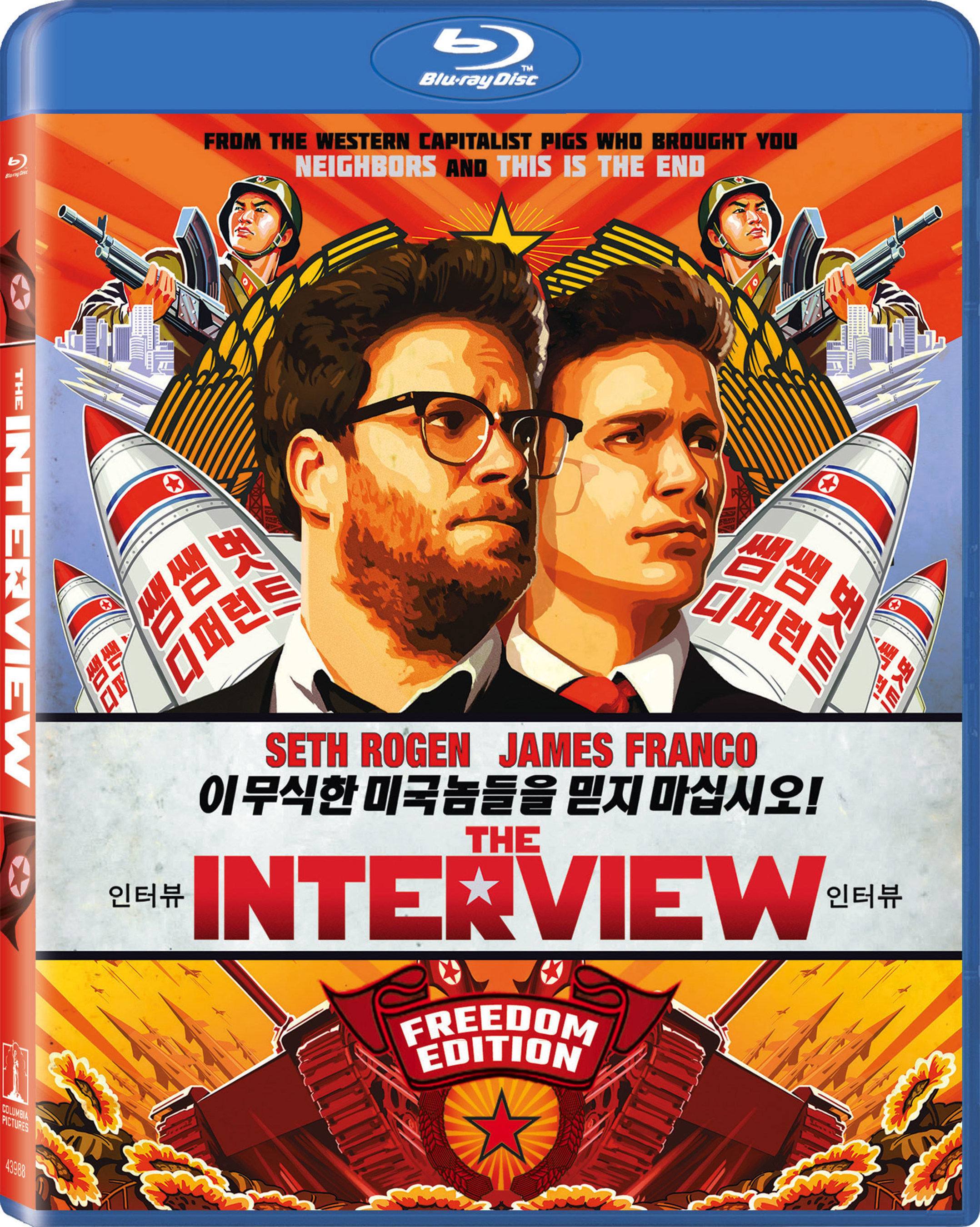 "Own The ""Freedom Edition"" Of ""The Interview""On Blu-ray(TM) And DVD Feb. 17"