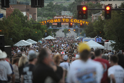 To help kick off the 25th anniversary of Mopar Mile-High Nationals in style will be the 12th edition of the popular Mopar Big Block Party festivities held on Thursday, July 18, from 6 to 10 p.m. (MT) between 11th and 13th street in downtown Golden, Colo.  (PRNewsFoto/Chrysler Group LLC)