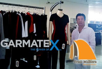 Sam Kim of Makers USA, Inc. and Trail Makers.  (PRNewsFoto/Garmatex Technologies, Inc.)