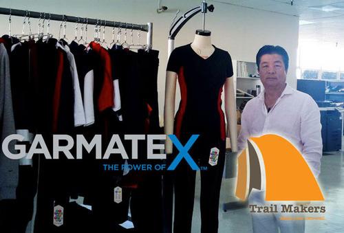 Sam Kim of Makers USA, Inc. and Trail Makers. (PRNewsFoto/Garmatex Technologies, Inc.) (PRNewsFoto/GARMATEX TECHNOLOGIES, INC.)