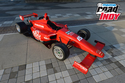 Mazda Powers Indy Lights in 2015