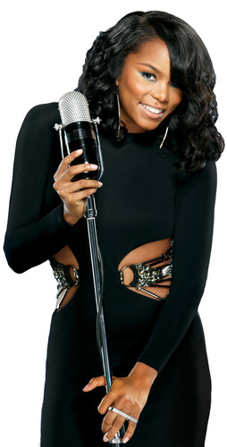 R&B Artist LeToya Luckett Hits Chicago, Showing Off Hot Holiday Hair Styled With Luster's® Pink®