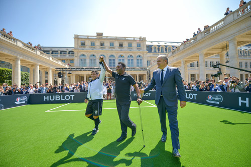 Hublot Creates History in Bringing Pele and Maradona Together 2 Legends for a Historic Once in a Lifetime ...