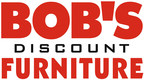 Bob's Discount Furniture company logo.