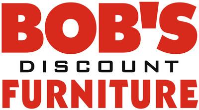 Bob's Discount Furniture company logo.