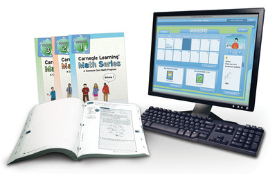 The Carnegie Learning Math Series is designed to close the achievement gap by providing individualized learning for math students in grades 6-8 that surpasses one-size-fits-all instruction.  (PRNewsFoto/Carnegie Learning, Inc.)